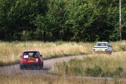 CMC Wethersfield Stages, 29th August 2016, about to overtake an Escort