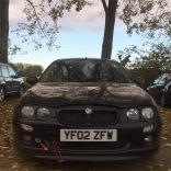 First autotest in the MG ZR, 'Minnie,' and a first ever autotest class win for Suze, 23rd October 2016